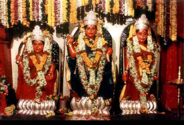 Legend - maa vajreshwaridevi, form of goddess durga, temple situated near Vasai,Mumbai, india